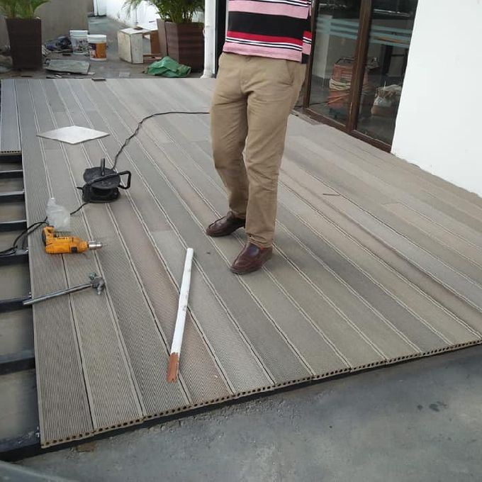 Flooring Works for swimming area
