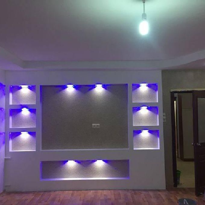 Affordable TV Gypsum Cabinet Installation Help