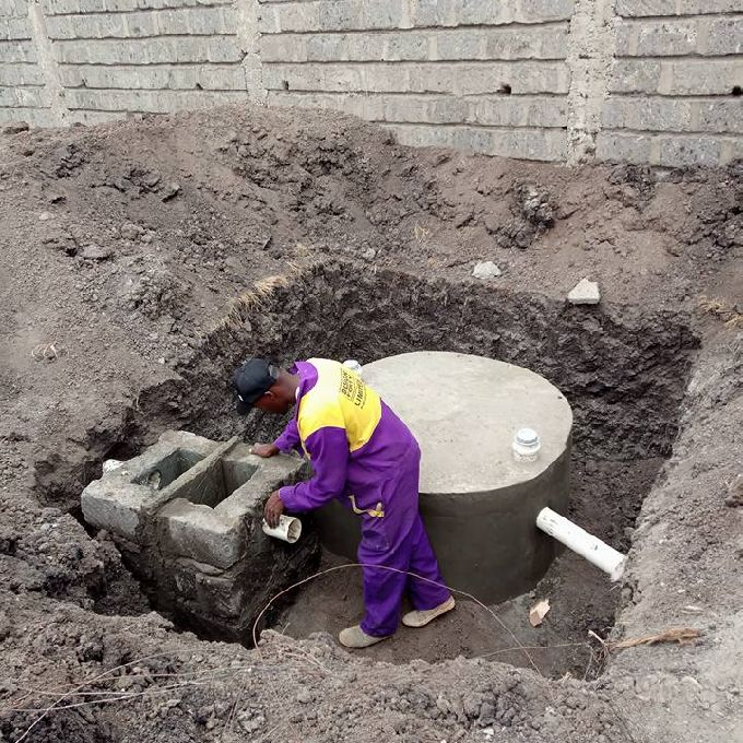 Installing a Complete Bio Digester System