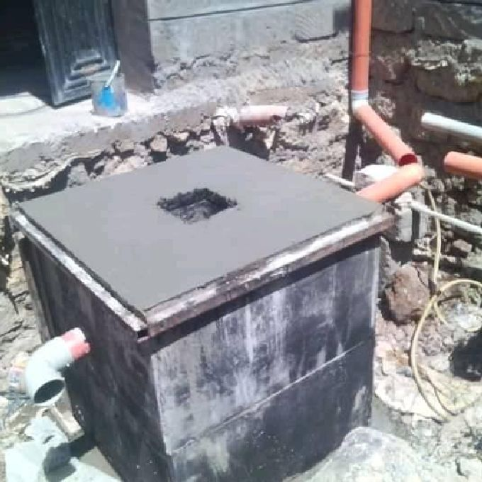 Biological Septic Tank Installation