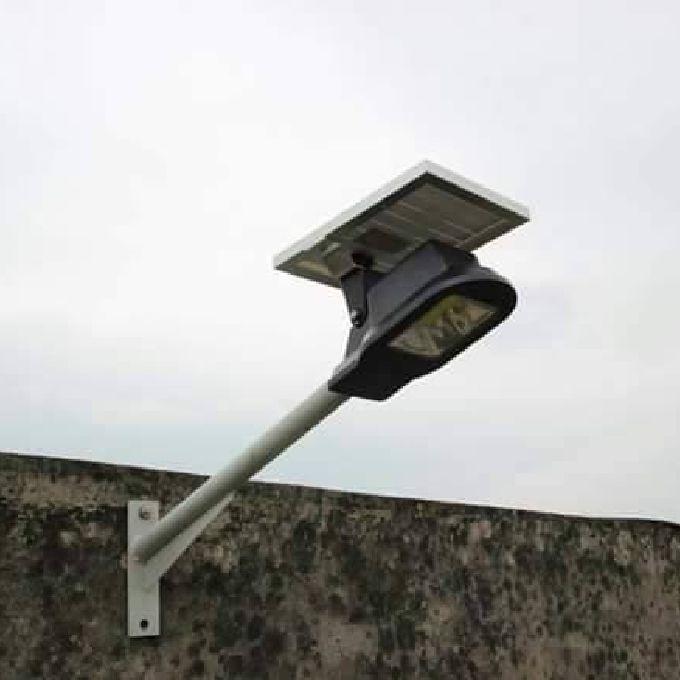 Solar Security Lights Installation