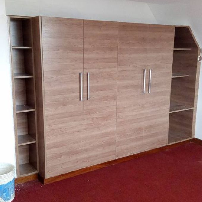 Textured board Wardrobes for Sale