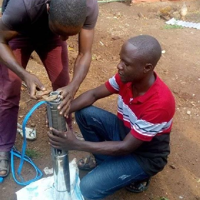 Installation of Submersible Pump
