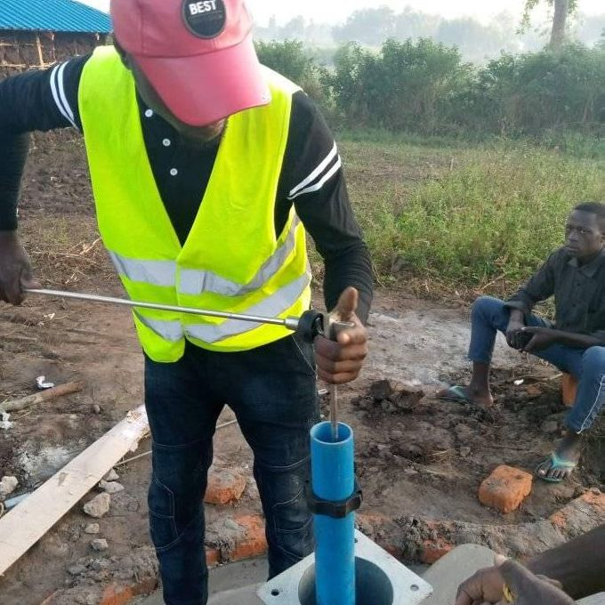Borehole Test Pump Installation