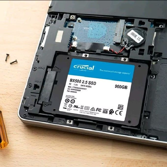Changing Laptop hard disk drive(HDD) to solid-state drive(SSD)