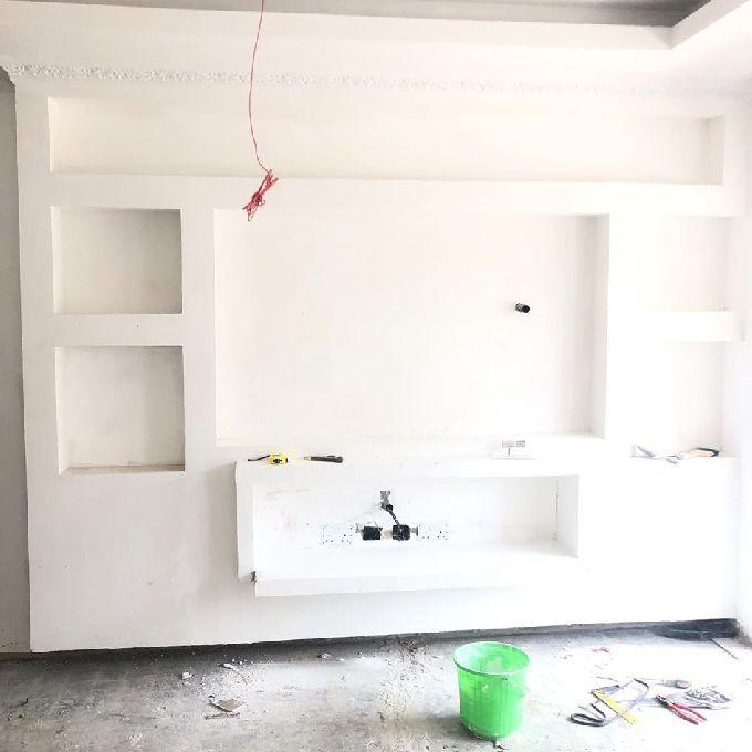Gypsum TV Unit Installation Experts in Nairobi