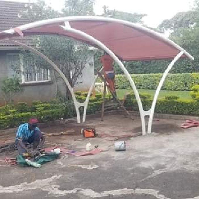 Car Shade Installation in Nairobi
