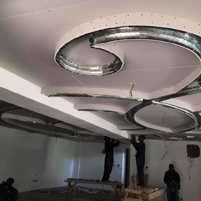Residential Gypsum Installation
