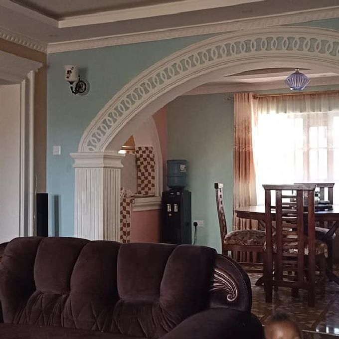Latest Dining Arches and Moulding Designs Instllation