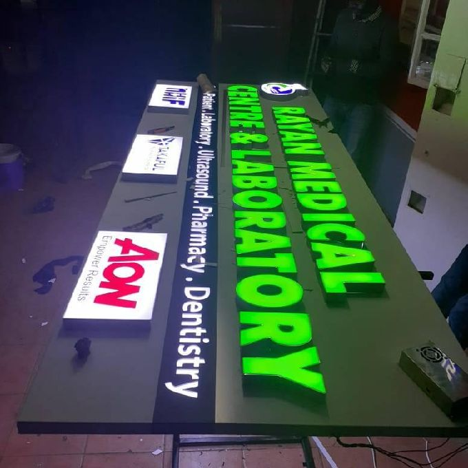 3D Signage Design and Fabrication