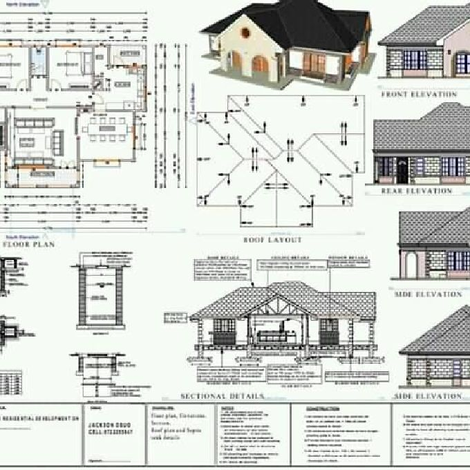Proposed 3 Bedroom Bungalow