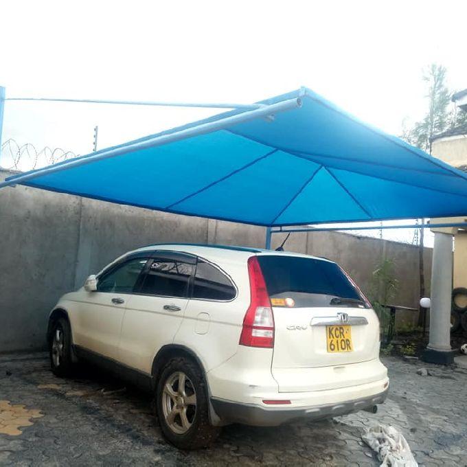 Polycarbonated Car Shade