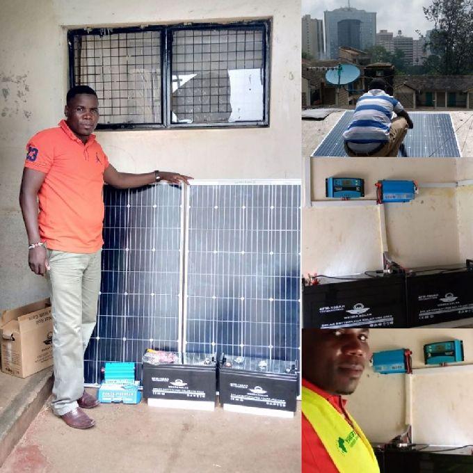 Solar Power Lighting for Domestic Use
