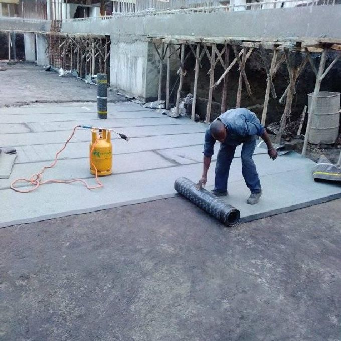 Wall Skimming for Waterproofing