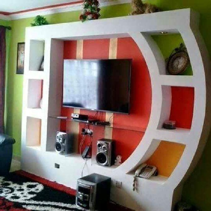 Gypsum TV Cabinets Installation Experts