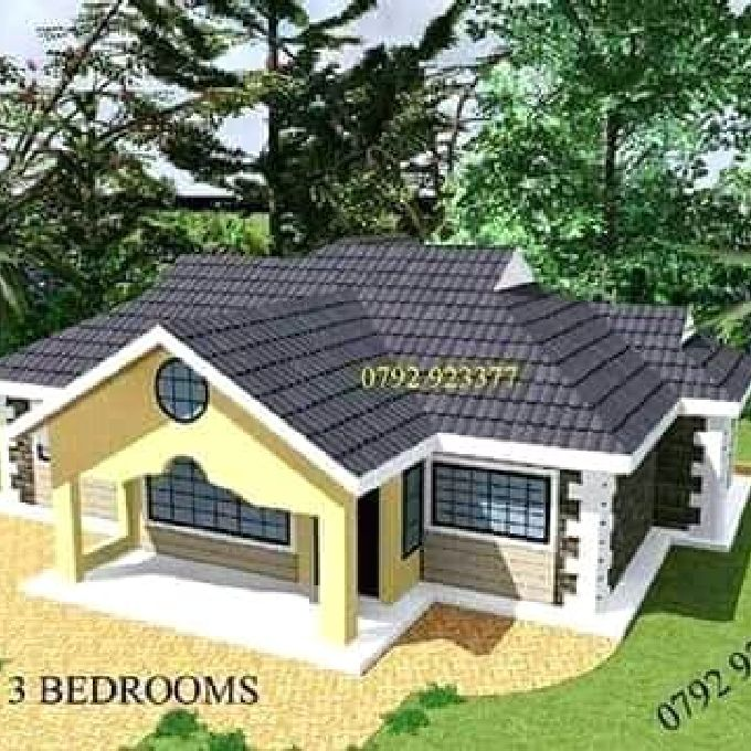 Proposed 3 Bedroom House in Alego