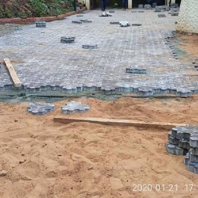 Cabro Installation Services in Mombasa