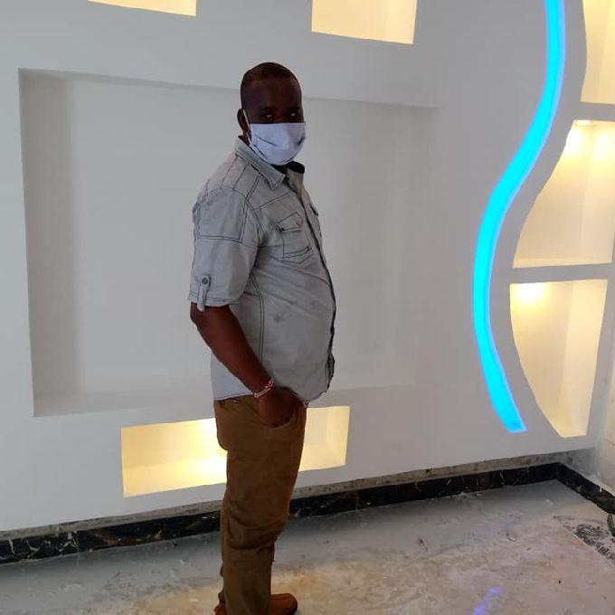 TV Stand Gypsum Installation