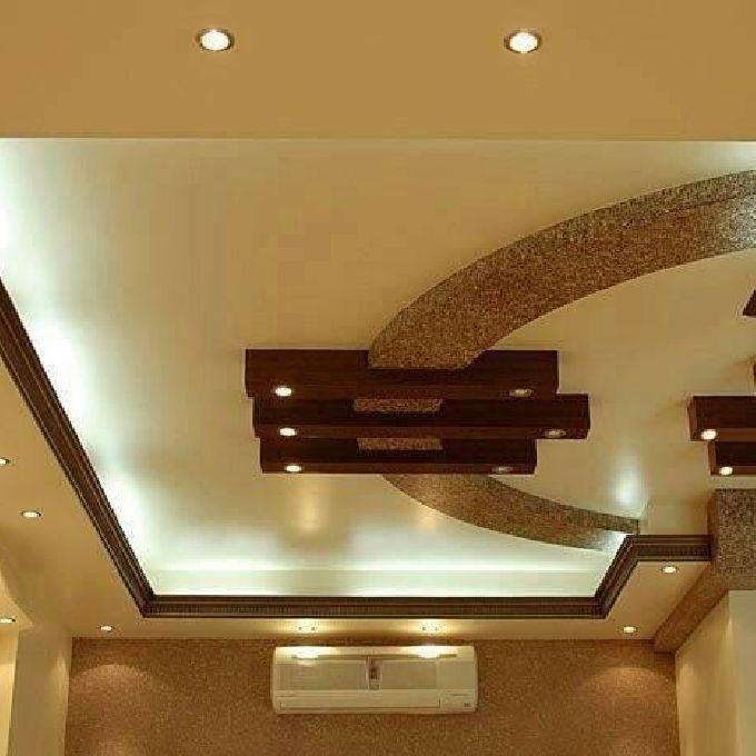 Sitting Room Ceiling Gypsum Design
