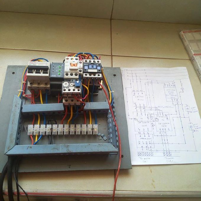 Installation of Power Control Board for a Conveyor Machine