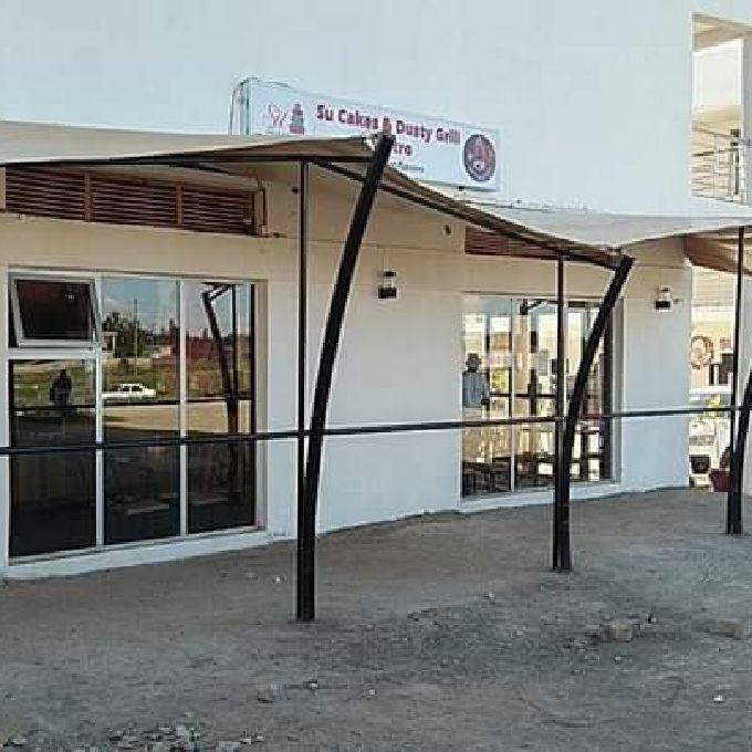 Restaurant Shade Installation