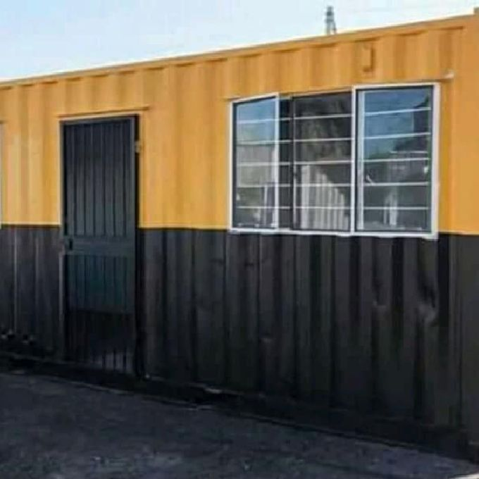 Office Block Container Fabrication