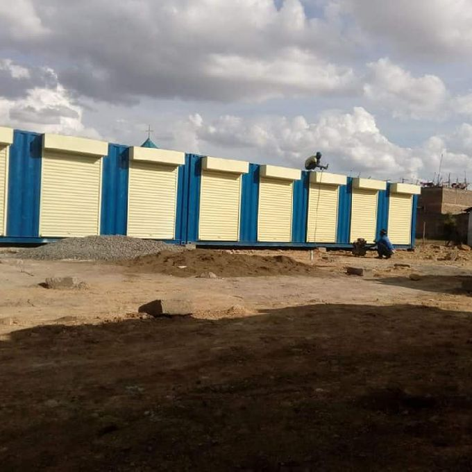 Metal Stall Container fabrication to Stall