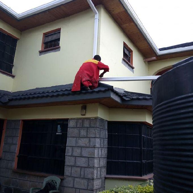 PVC Rain Gutters Installation Help