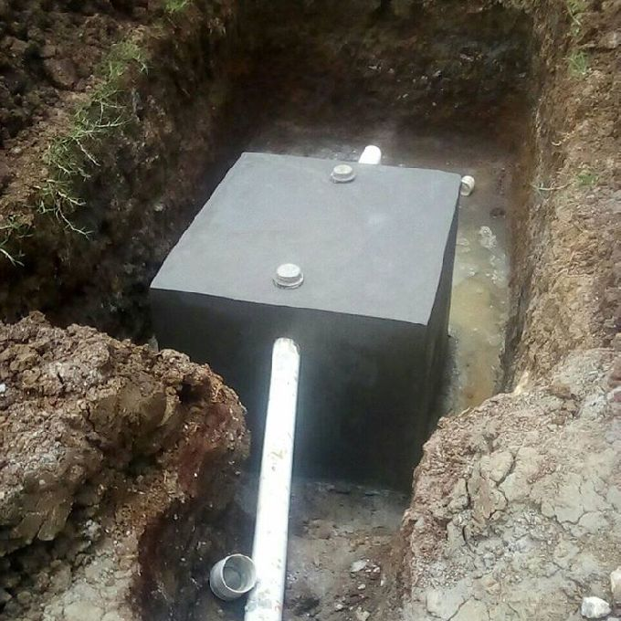 Perfectly Installed Septic Tank in Nairobi