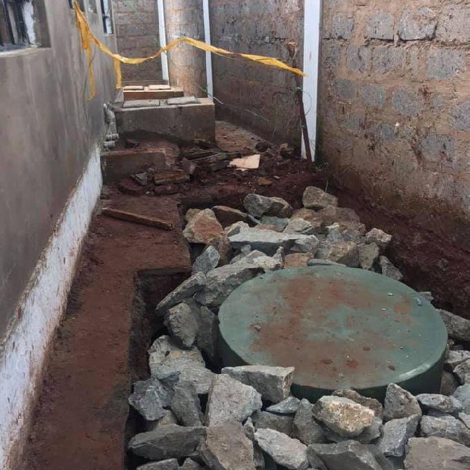 Installation of Bio Digestor at Banda Homes