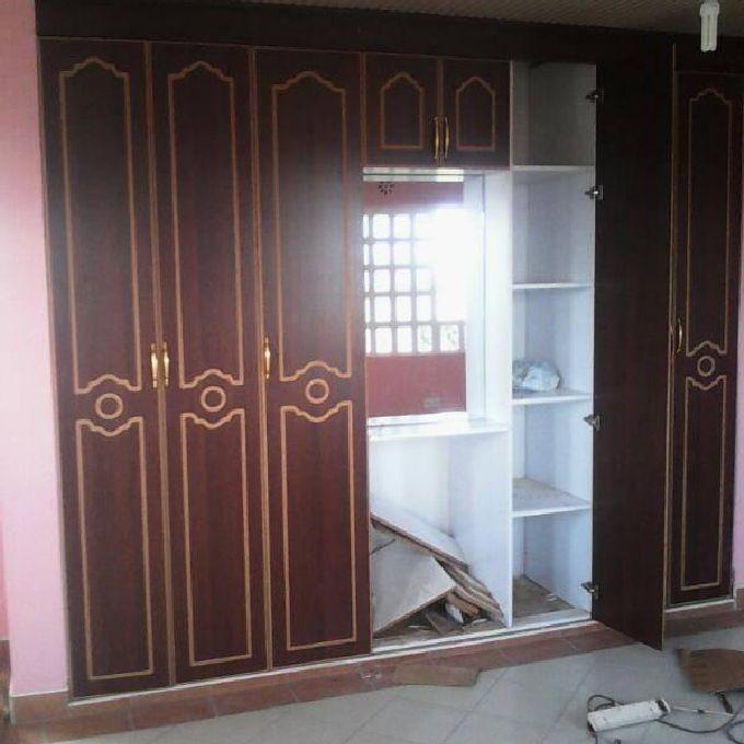 MDF Wardrobes Installation Service