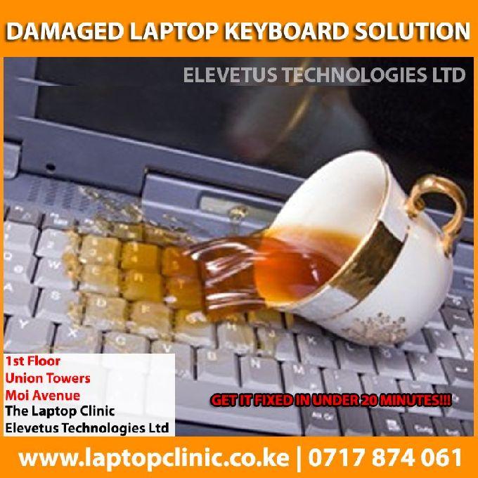 Damaged Keyboard Laptop Solutions