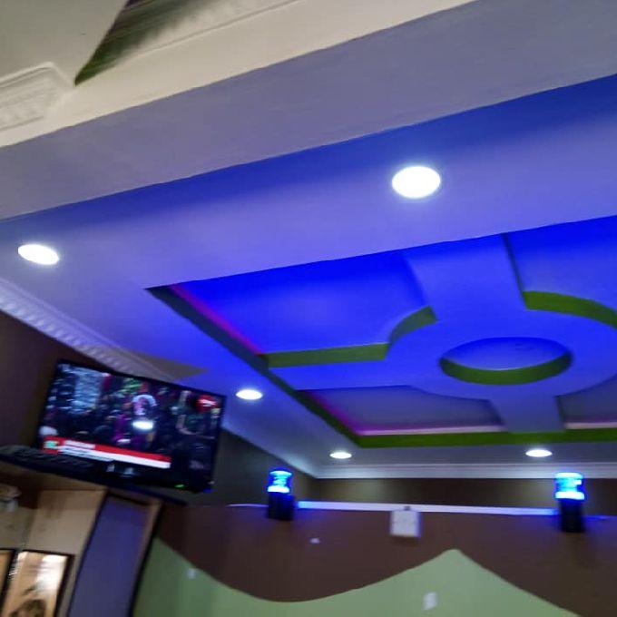 Night Club gypsum installation Expert in Meru