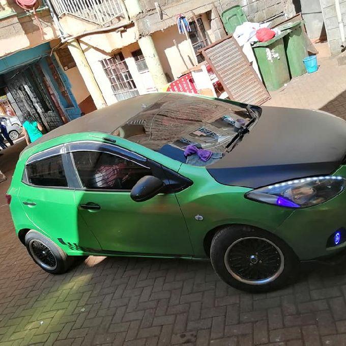 Car Wrapping in Kikukyu