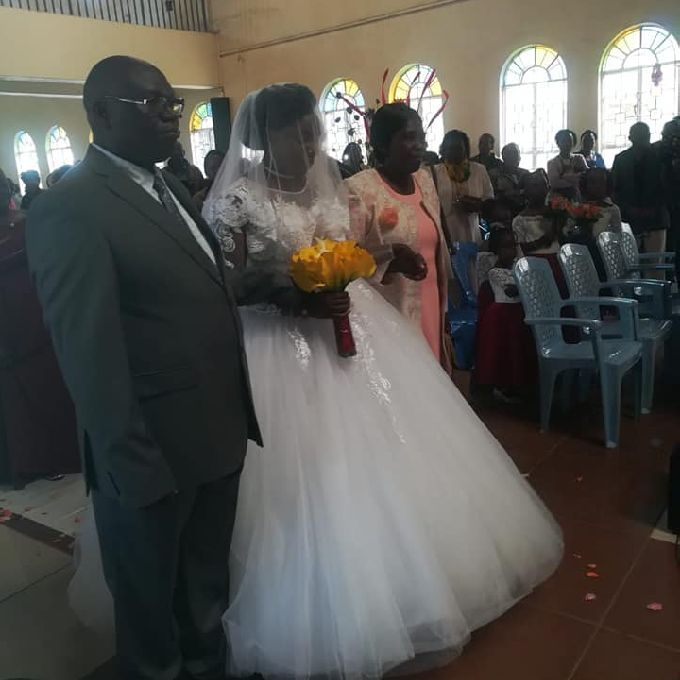 Wedding Gown in Rongai