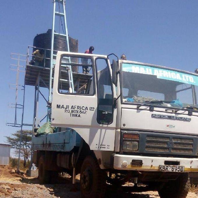 Water Tank Installation Services in Kajiado