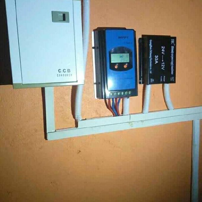 Digital Solar charge controller Installation Services