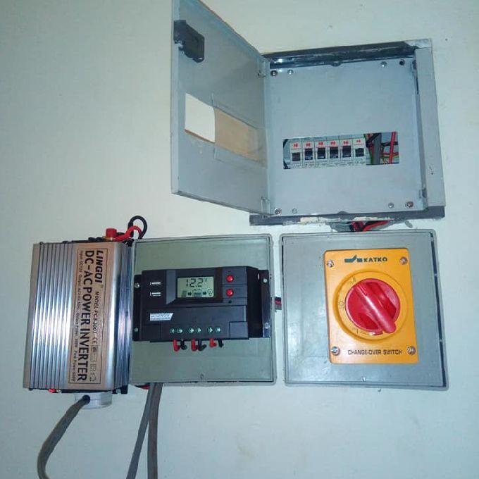 Alternative power source installation help