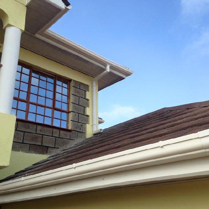 Maintenance Free Rain Gutters in Nairobi