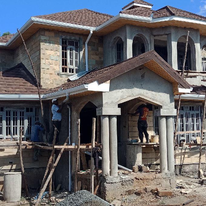 Mansion Construction in Kiambu