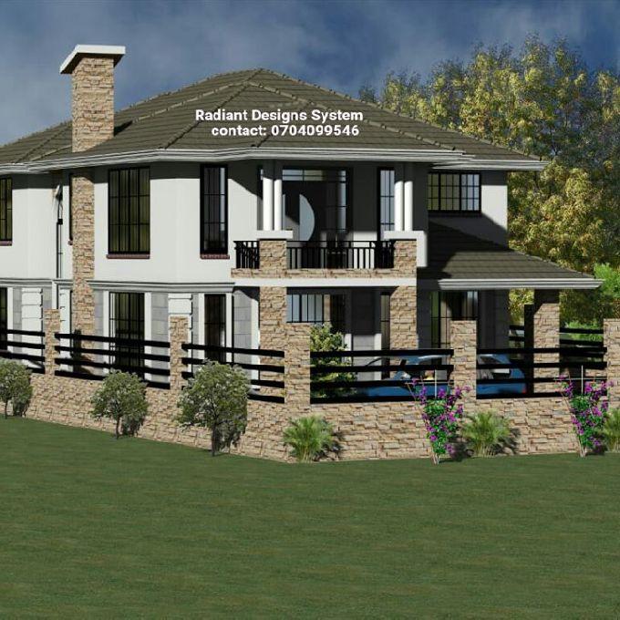 Proposed Mansion Designs in Nairobi