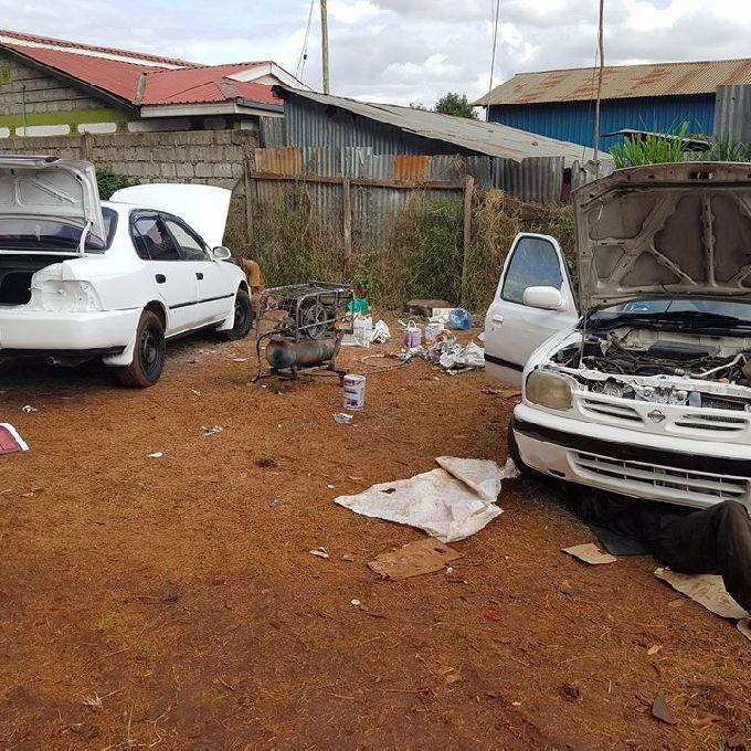 Car Body Work Repair