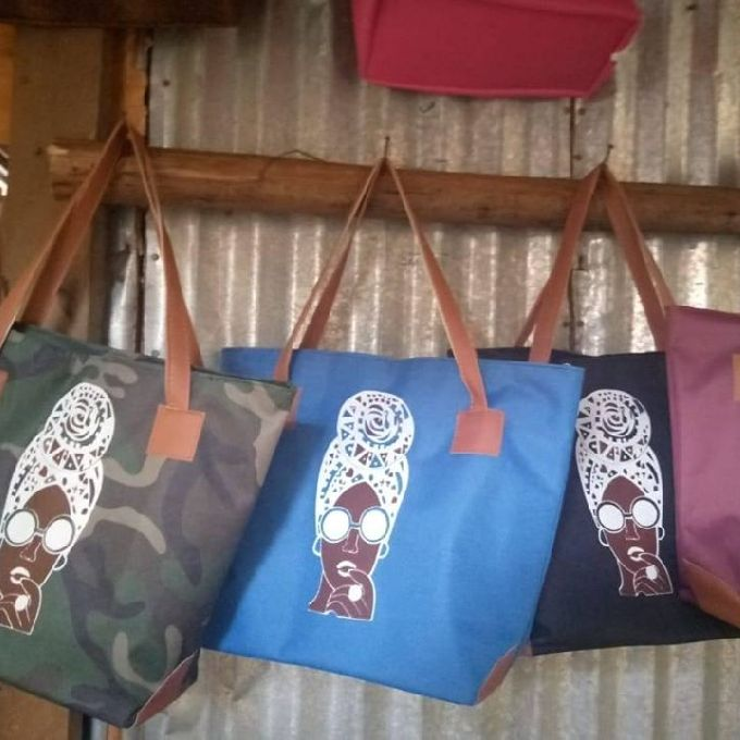 Hand Crafted Leather Hand Bag