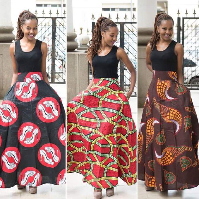 Beautiful & Classy Kitenge Attires