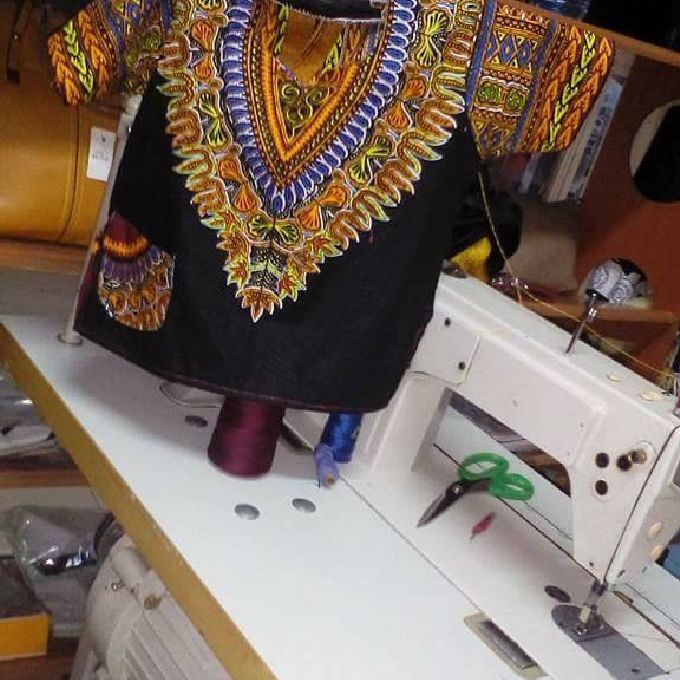 Fashionable Kitenge For Ladies