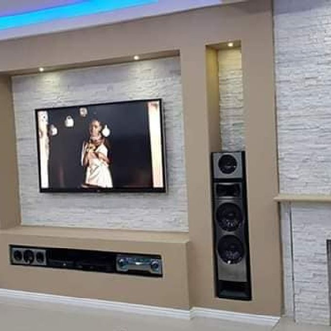 Experts who Install Gypsum TV Cabinets
