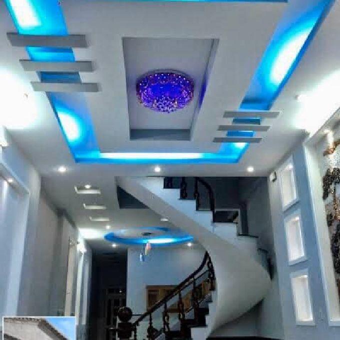 Classy gypsum designs installation aid