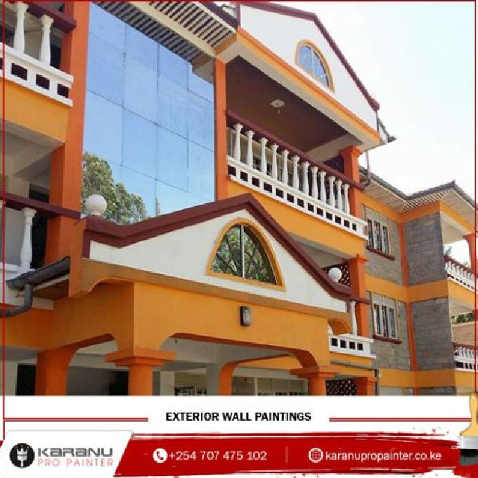 Affordable Residential building painting services