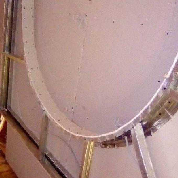 Gypsum Board TV Stand Installation Help