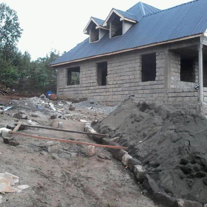 Carpenters in roofing  and interior design